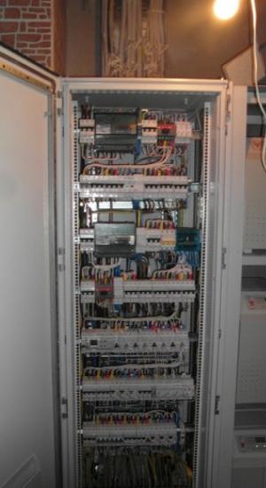 Монтаж электрощита и управляющих устройств